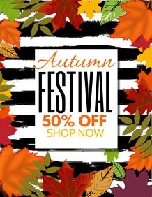 Autumn festival,fall flyers,event flyers,