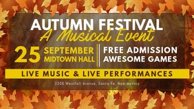 Autumn Festival Facebook Cover Video