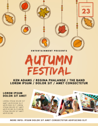 Autumn Festival fair Flyer Template