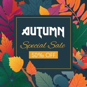 autumn flyer, autumn sale, fall, harvest