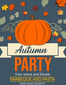 Autumn Flyers,event Flyers,fall fest