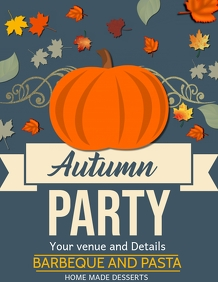 Autumn Flyers,event Flyers,fall fest