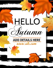 Autumn flyers,Event flyers,fall flyer