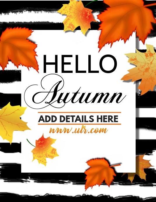 Autumn flyers,Event flyers,fall flyer