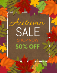 autumn flyers,event flyers