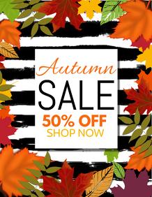 autumn flyers,fall flyers,event flyers