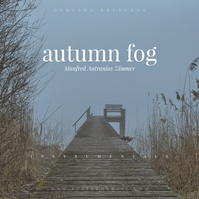 Autumn Fog Classic CD Cover Template Capa de álbum