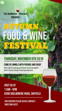 Autumn Food & Wine Festival Video Template