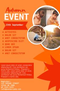 Autumn Kids Event Flyer Template