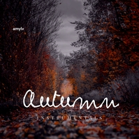 Autumn Leaves Clean Music CD Cover Design template