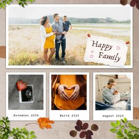Autumn Moodboard Instagram Image template