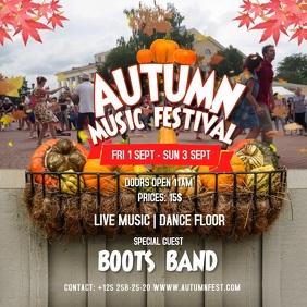 Autumn Music Festival Instagram Video