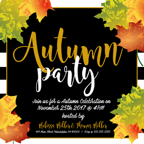 Autumn party