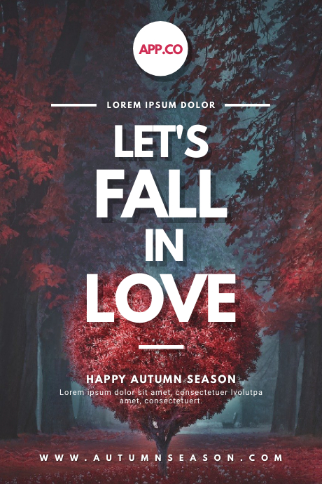 Autumn Romantic Quote Tumblr