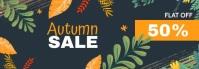 Autumn sale banner,Fall sale banner Bannière Tumblr template