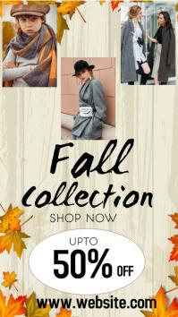 Autumn Sale Instagram-verhaal template