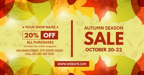 AUTUMN SALE Facebook Shared Image template