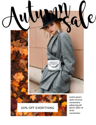 Autumn Sale Flyer Design Template