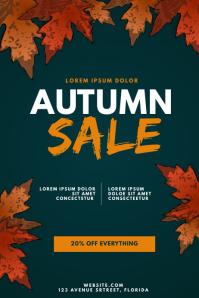 Autumn Sale Flyer Design Template