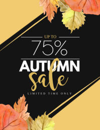 760 customizable design templates for autumn postermywall