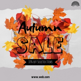 autumn sale Instagram