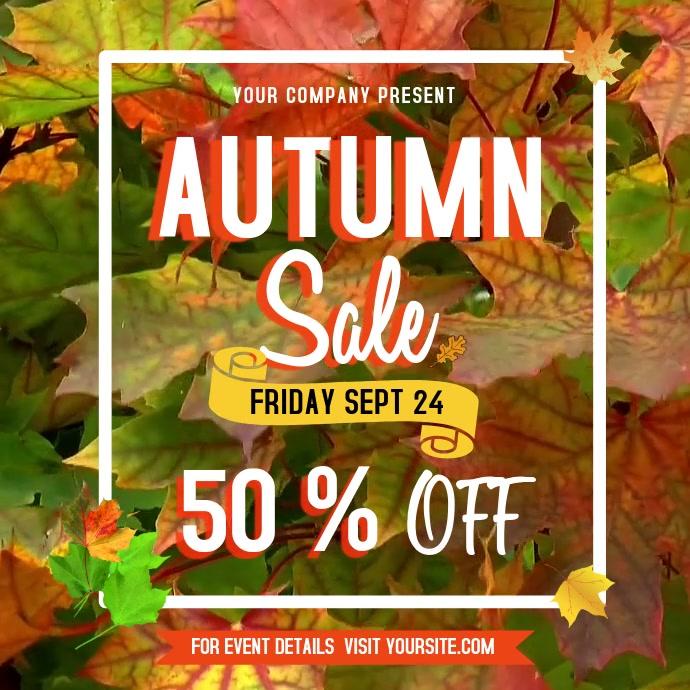 Autumn Sale Instagram Video