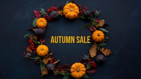 Autumn sale template