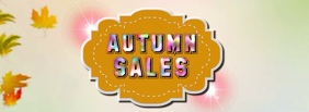 Autumn Sales Animation