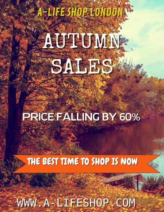 Autumn Sales Template