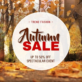 Autumn Themed Sale Instagram Video