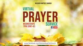 Autumn Virtual Prayer Цифровой дисплей (16 : 9) template