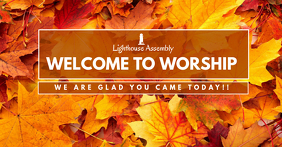 Autumn Welcome to Worship