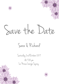 ave the date FLYER TEMPLATE
