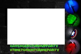 Avenger's Party Frame