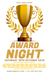 Award Night Poster