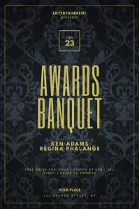 Awards Banquet Flyer Design Template
