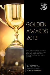 Awards Ceremony Flyer Design Template Iphosta