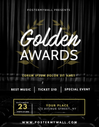 Awards Gala Event Flyer Design Template