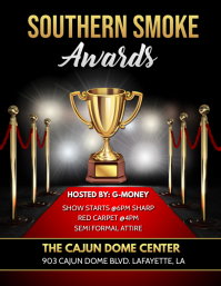 AWARDS RED CARPET FLYER