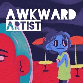 Awkward cover art