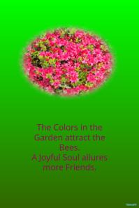 Azaleas spring garden event poster @postermywall