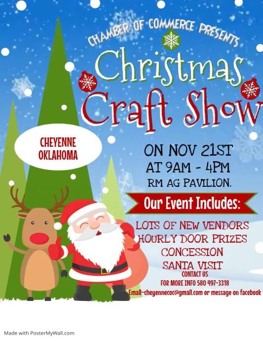 Christmas Craft Fair Flyer (US Letter) template