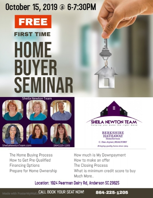 Copy of First Time Home Buyer Seminar Flyer