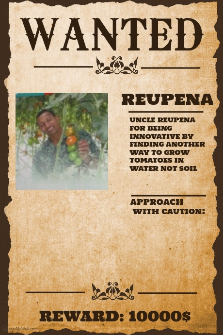 Copy of Wanted Poster Template