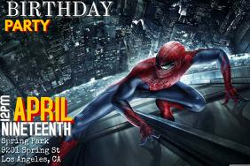 Customizable Design Templates For Spiderman
