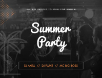 Summer party main template