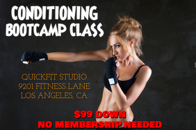 Conditioning Bootcamp Class