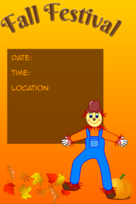 customizable design templates for scarecrow postermywall