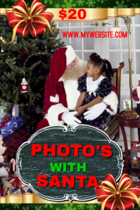 Photos with Santa Event Template