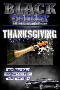Black Friday Club Flyer